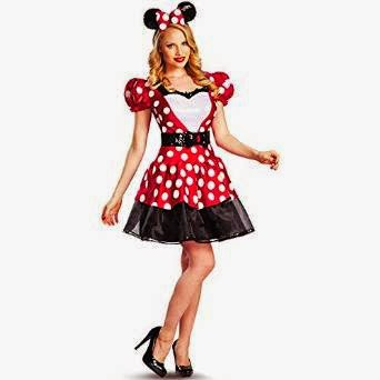 Kostum Disney Mickey Mouse Glammour Minnie