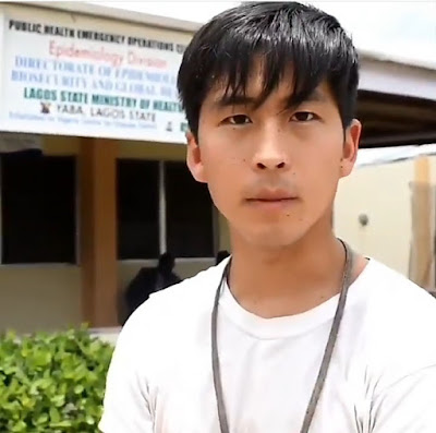 Asian Coronavirus survivor treated in Lagos, speaks after being discharged