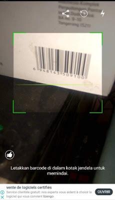 Cara Scan Code QR dan Barcode di Android