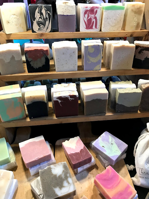 Natural beauty soaps from Thea Botanicals PH.