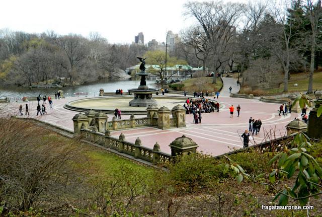 Bethesda Terrace, Central Park, Nova York