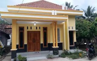 desain rumah ukuran 6x12 dengan 3 kamar model minimalis