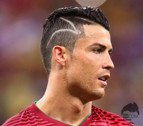 Model Rambut Cristiano Ronaldo