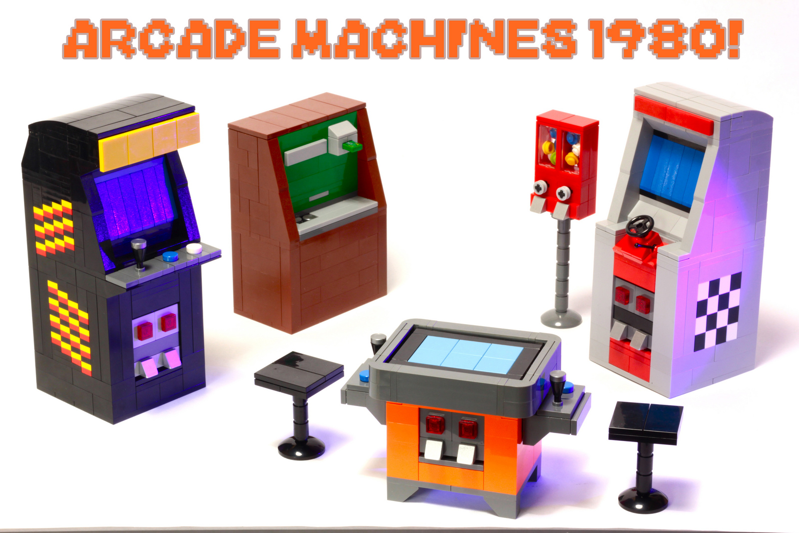 Tiles or Studs: LEGO Arcade Game Machines