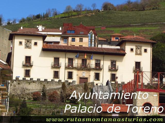 Palacio de Toreno en Cangas del Narcea