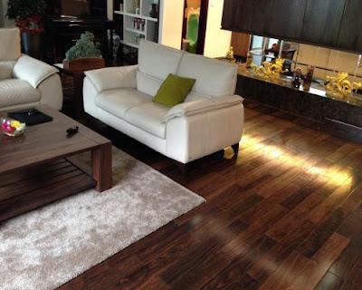 Sàn gỗ chiu liu đẹp tự nhiên