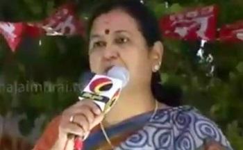 TN Election 2016: Premalatha Vijayakanth speech at election campaign in Kumbakonam