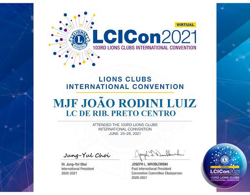 CONVENÇÃO INTERNACIONAL 2021