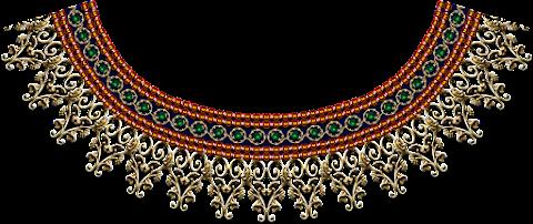Jwellery-neck-design-textile-print-7017