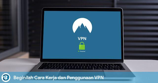 Beginilah Cara Kerja dan Penggunaan VPN