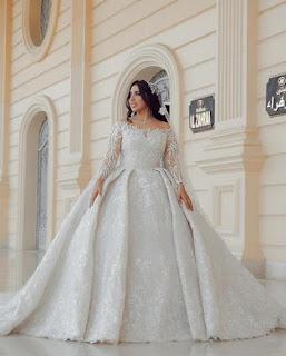 فساتين زفاف 2020 لمصمم الازياء احمد العقاد