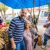 Prefeito Robério Oliveira na rua e a oposição nervosa