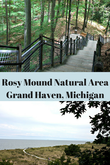 Rosy Mound Natural Area Grand Haven, Michigan -- hiking, Lake Michigan views and beach time