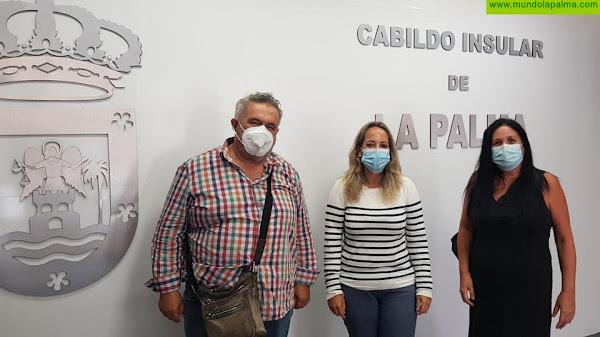 El Cabildo atiende las demandas de la Federación de Asociaciones de Padres y Madres de La Palma al inicio del curso 2020-2021