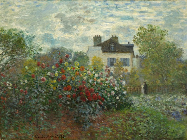Monet - The artist Garden at Giverny - Seis artistas-jardineros y exposicón Painting the Modern Garden: Monet to Matisse