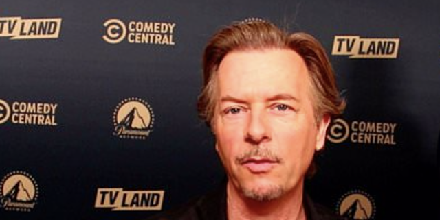 Comedian David Spade tells DailyMailTV he won't make Donald Trump jokes on his new show Lights Out with David Spade, which premieres on July 29.