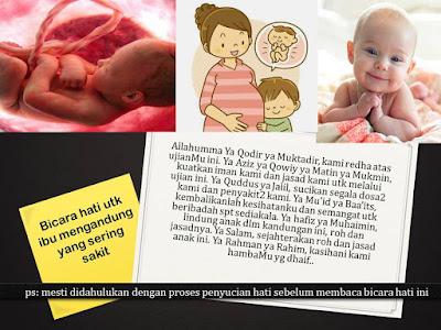 Bicara hati untuk ibu mengandung yang sering sakit