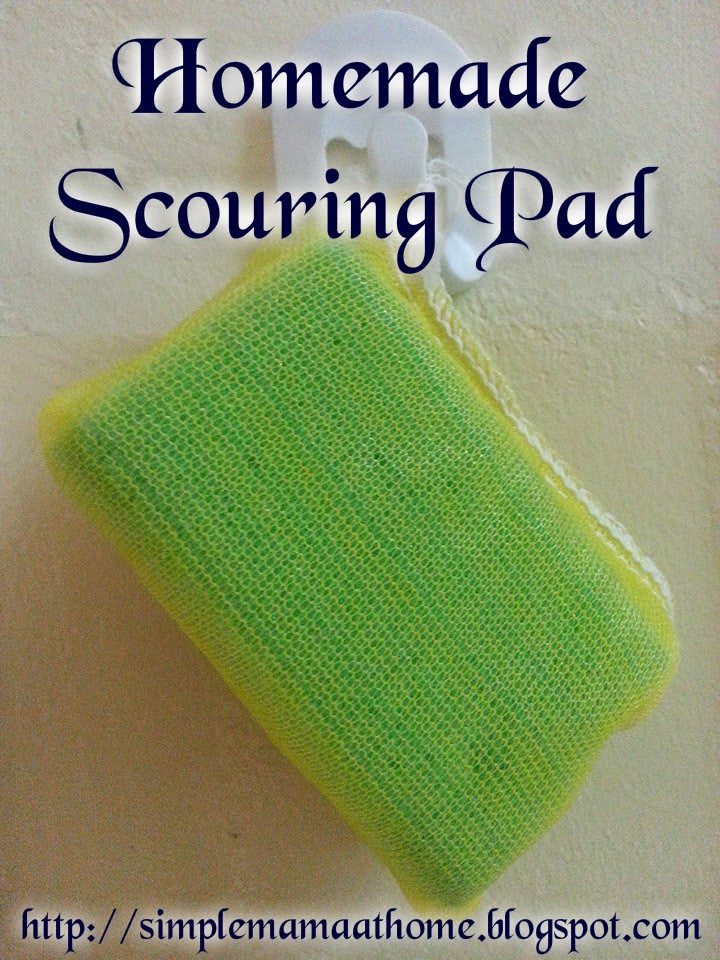 Homemade Scouring Pad