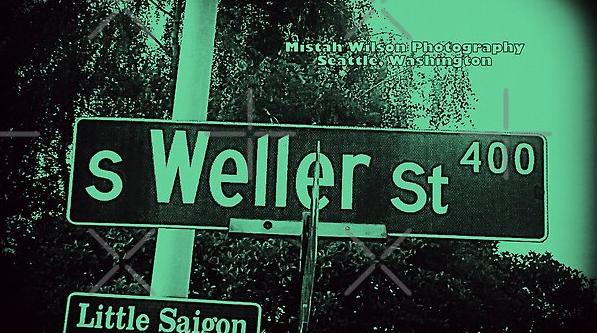 Weller Street, Seattle, Washington by Mistah Wilson