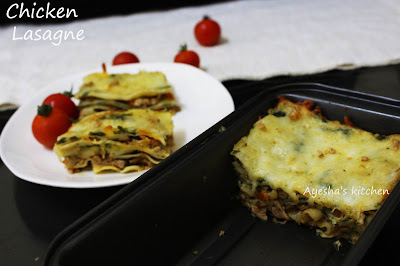 simple lasagna recipe with step by step pics easy to make recipe yummy chicken lasagne pasta recipe ayeshas kitchen tasty snacks