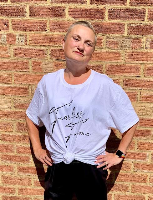 Femme Luxe Fearless Femme T-shirt