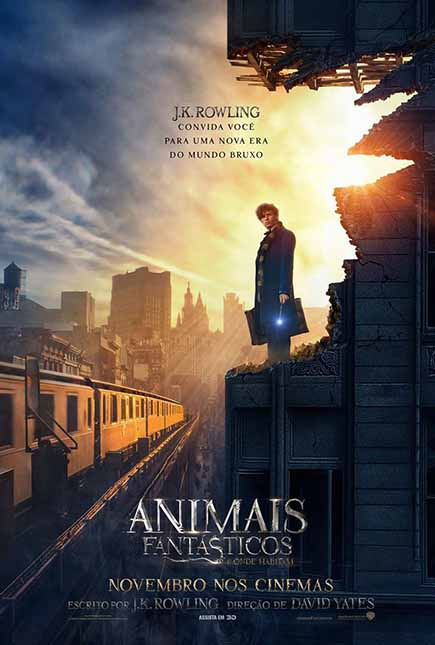 Animais Fantásticos e Onde Habitam 3D (2017) Torrent Download – BluRay 1080p Dual Áudio
