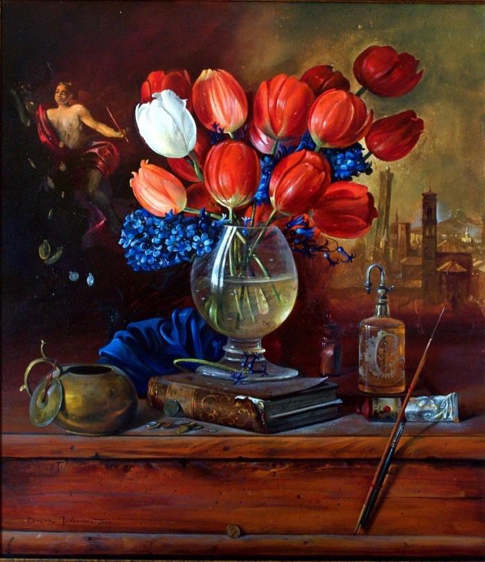 Сербский художник-реалист. Dusan Jovanovic 15