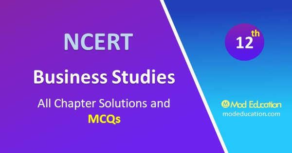 MCQs for Class 12 Business Studies Chapter 12 Consumer Protection with answer