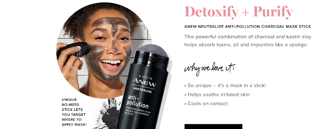 avon catalog 21 2019 anew neutralize stick