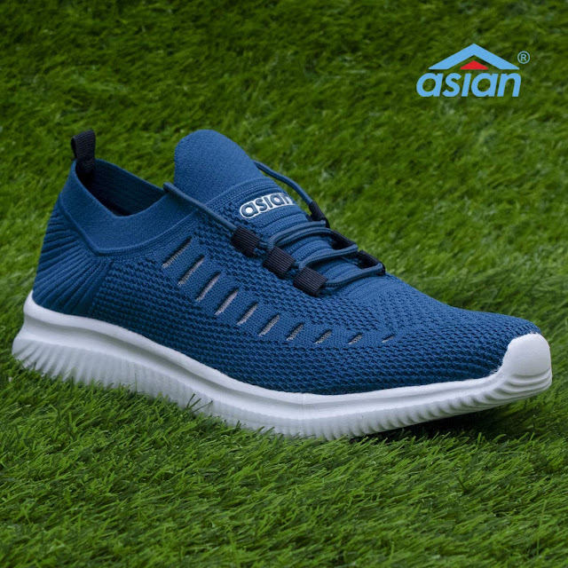 ASIAN Men's Hattrick-09 Men's Knitted Sports Shoes Sneakers, Ultra-Lightweight, Breathable, Walking, Fabric Running Shoes