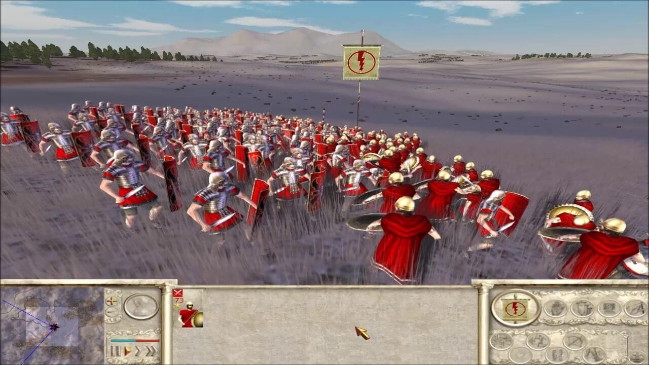 تحميل لعبة 1 rome total war مجانا بحجم صغير