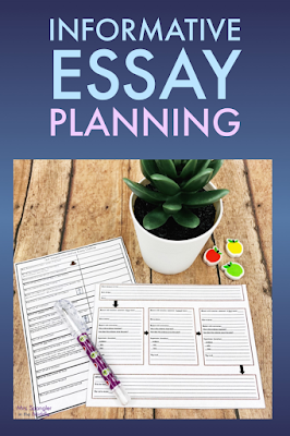 A key to good essay planning in middle school is having a good planning sheet!  Get a free one here!