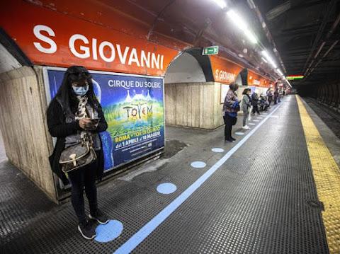 Il test sulla metro che rischia il collasso: da 1.200 posti si va a 150