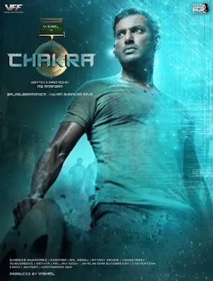 Chakra Movie First Looks, Chakra Movie Poster, Vishal Chakra First look