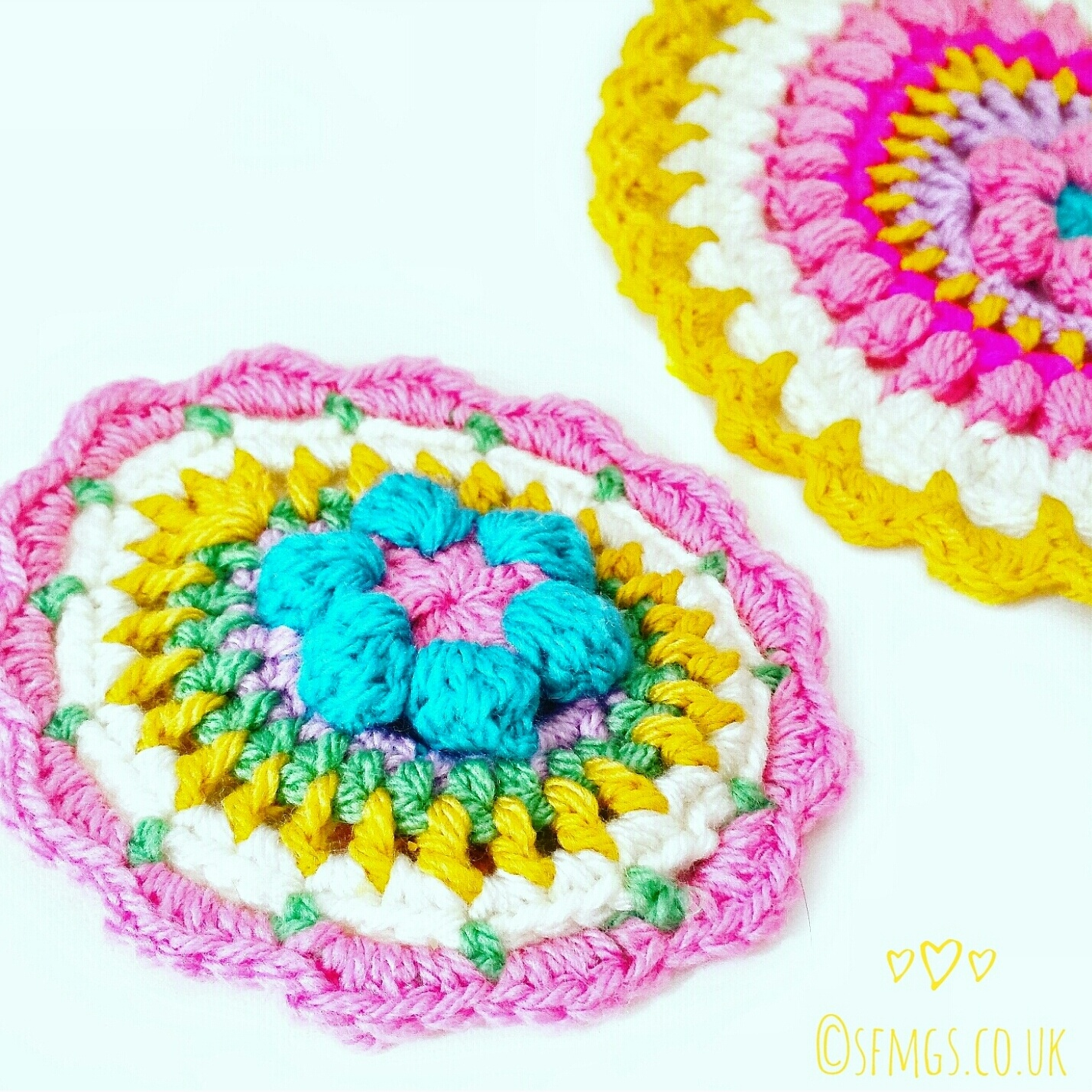 easter crochet pattern mandala