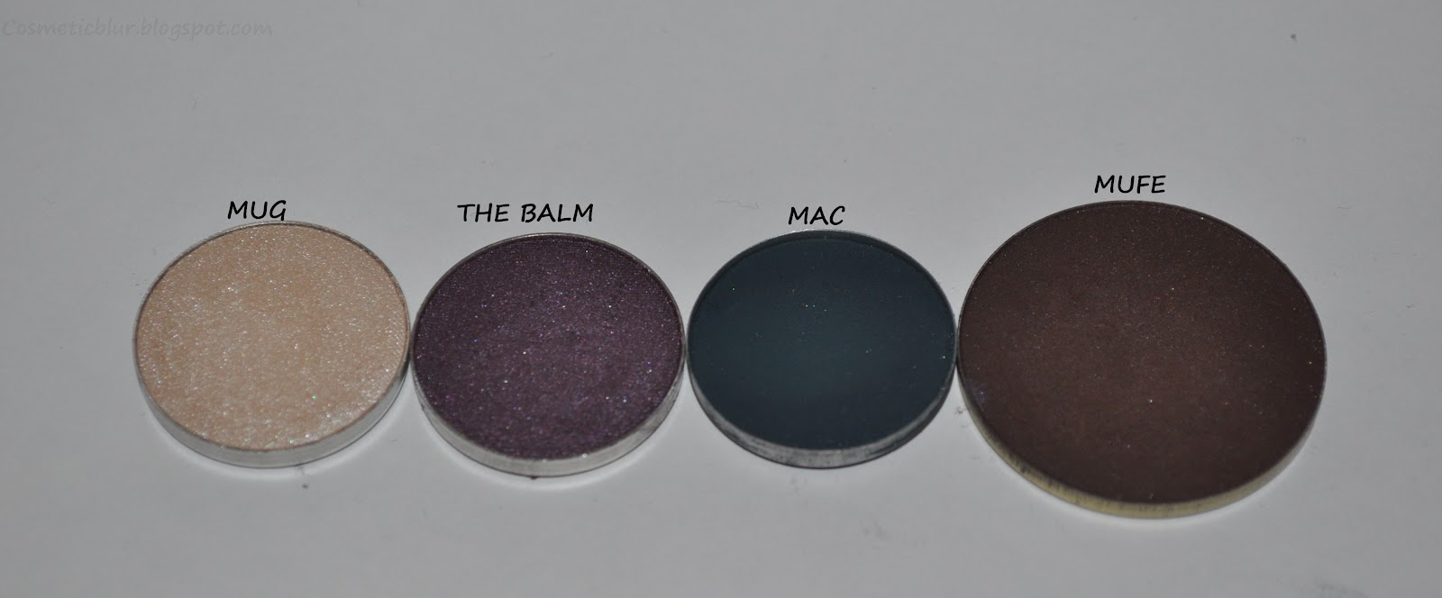 Own A Mac Palette Or Even An E L F One These Would Fit In Perfectly From Left