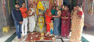 भगवान महावीर स्वामी का जन्म कल्याणक वाचन हुआ