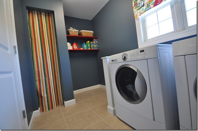 Laundry Room Sherwin Williams Smoky Blue