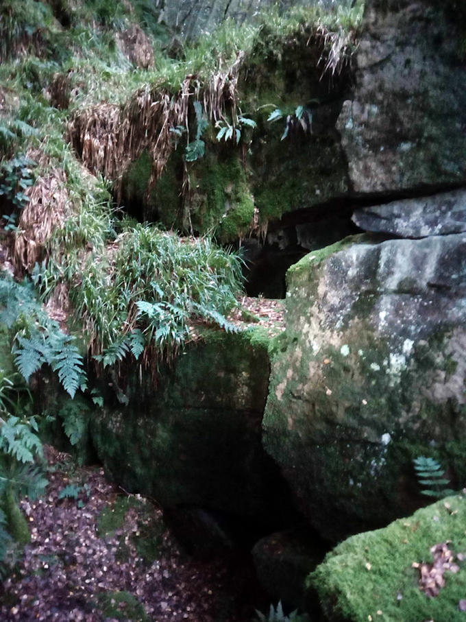 Tom Bell's Cave, Heptonstall, West Yorkshire