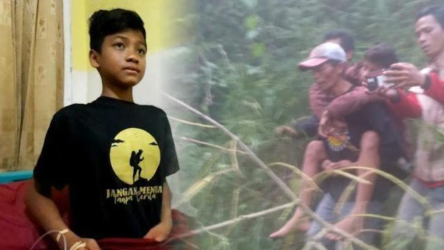 Cerita Gibran Hilang 5 Hari di Gunung Guntur: Selalu Siang, Tak Pernah Malam