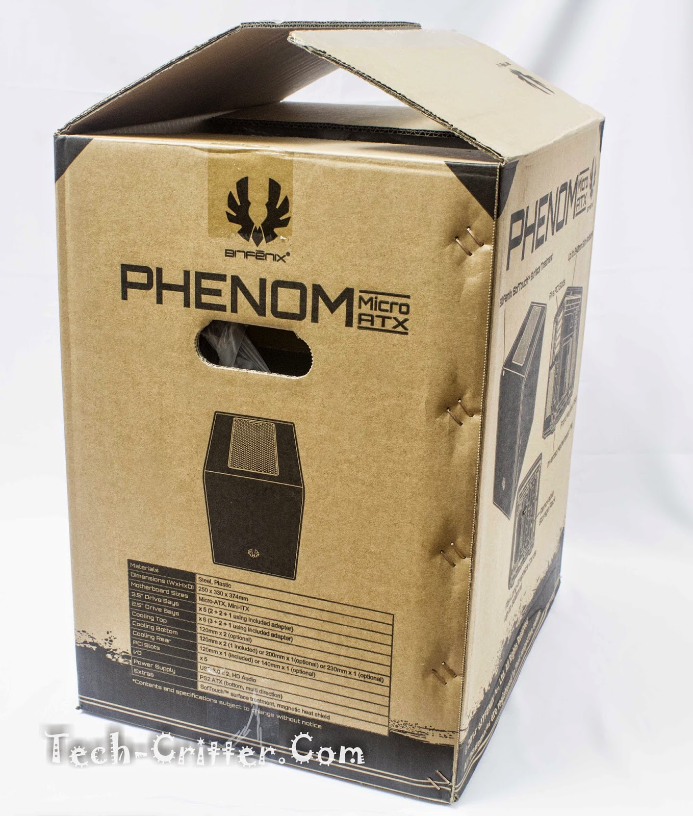 Unboxing & Review: BitFenix Phenom-M 5