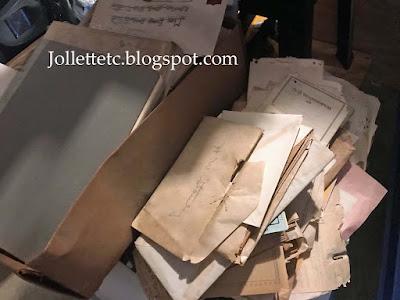 Items found in Davis attic 2020 https://jollettetc.blogspot.com