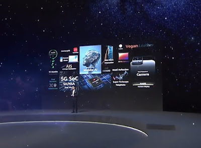 الرئيس التنفيذي لشركة هواوي ريتشارد يو Richard Yu يتحدث عن التقنيات التي قدمتها هواوي في مجال الإلكترونيات