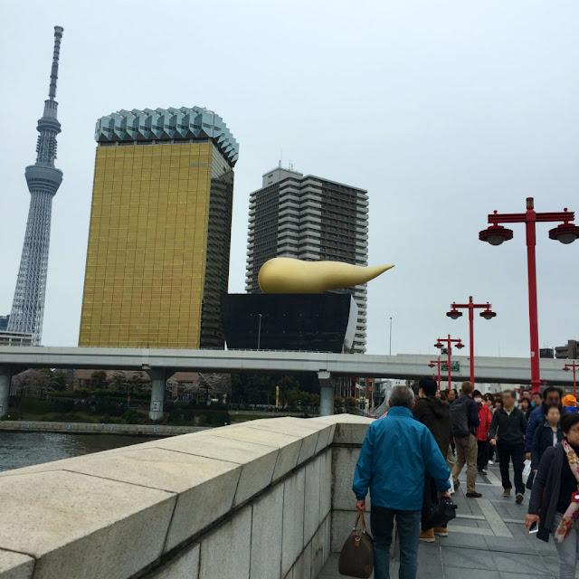 東京観光:アサヒビールタワー