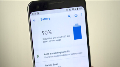 Pixel 4 Battery Tips