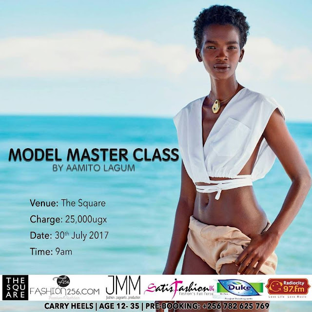 Everything You Need To Know About Ugandan Supermodel Aamito's Upcoming Model Master Class In Kampala