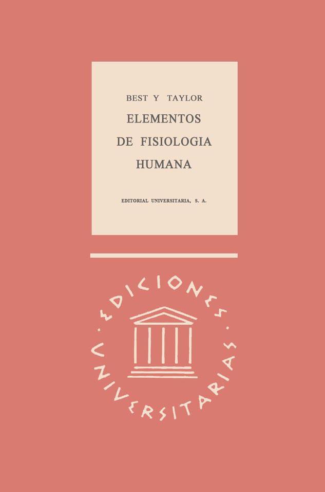 Elementos de fisiología humana – Charles Herbert Best | LibrosVirtual