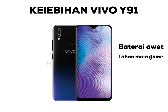 kelebihan hp Vivo Y91
