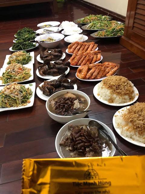 Dịch vụ nấu cỗ tại nhà từ 01 mâm tại Nam Từ Liêm