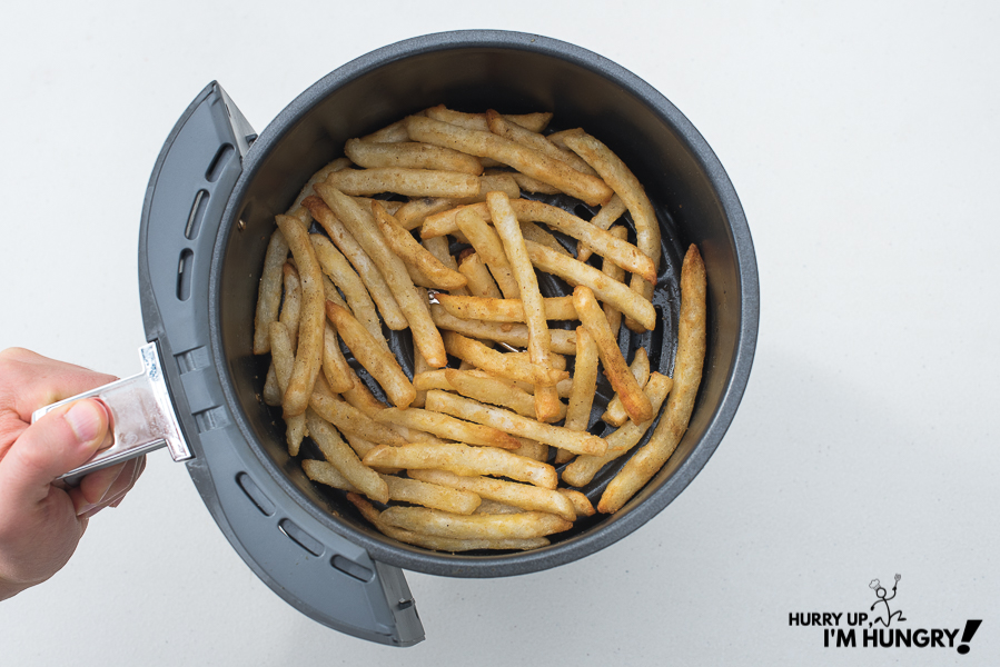 How to cook frozen french fries in air fryer